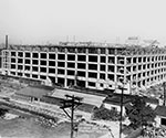 The war effort spurs a huge increase in business, including a contract to design and manage construction of a mammoth Quartermaster Terminal in Philadelphia.