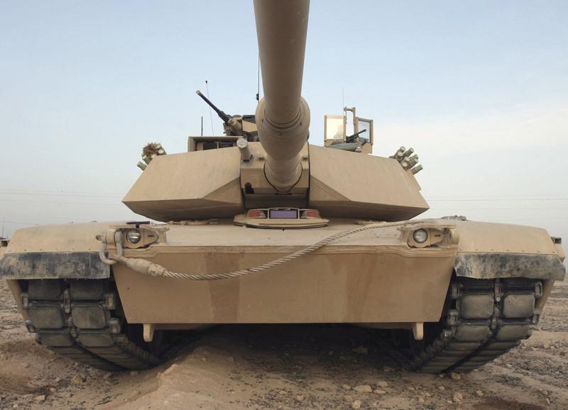 m1 tank munitions