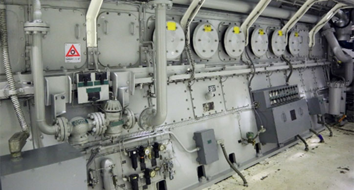 Record diesel generator rebuild project